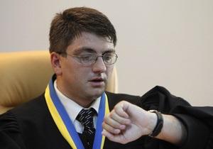 Суд дал Тимошенко две недели на подготовку к дебатам