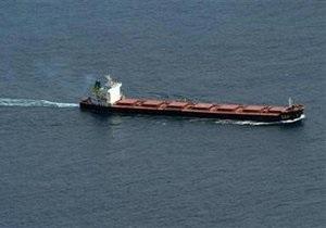 Сомалийские пираты освободили китайский сухогруз