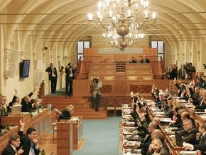 Сенат Чехии одобрил Лиссабонский договор, призванный заменить Евроконституцию