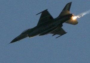 В Южной Корее разбился истребитель ВВС США