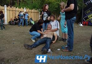На рок-фестивале в российском Миассе скинхеды избили зрителей