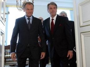 Туск считает образцовыми польско-украинские отношения