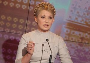 Тимошенко призвала не игнорировать  второй тур выборов