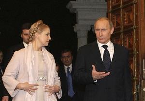 Тимошенко отрицает, что обещала Путину продлить базирование ЧФ в Крыму