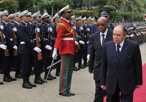 Президент Алжира перенес микроинсульт