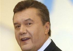 Янукович: В Украине созданы все условия для развития самобытности нацменьшинств