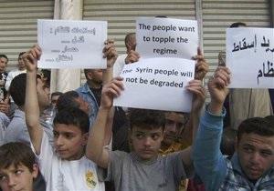 ЮНИСЕФ: Жертвами антиправительственных волнений в Сирии стали более 380 детей