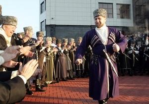 В Крыму открылась мечеть имени Кадырова