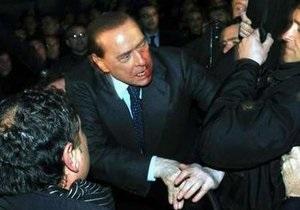 Правительство Италии опасается новых нападений на Берлускони