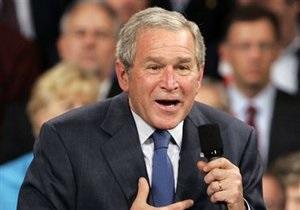Мемуары Буша купили более миллиона человек
