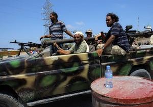 Повстанцы предъявили ультиматум войскам, защищающим родной город Каддафи