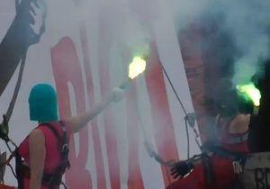 На MTV Video Music Awards в США показали видео от Pussy Riot