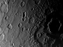 На Меркурии обнаружен кратер с отпечатком телефона