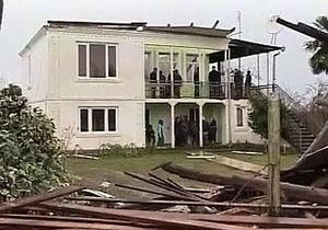 На Грузию обрушился сильнейший ураган