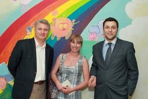 Социальный арт-проект «Цвета жизни»: первый украинский роддом живописно преобразился