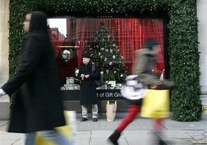 В канун Рождества британцы каждую минуту тратили 1,5 миллиона долларов