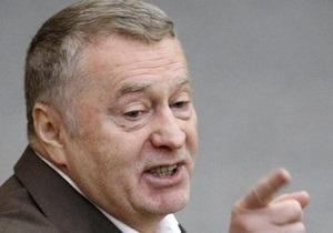 Жириновский призвал депутатов выйти из отпуска и  поработать лопатой  на месте пожаров