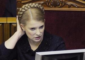 Тимошенко: Косу я заплетаю с закрытыми глазами