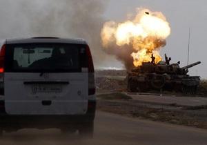 ПНС призвал НАТО продлить военную операцию в Ливии