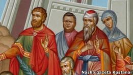 Казахстан: сенатору на фреске в храме дорисовали бороду