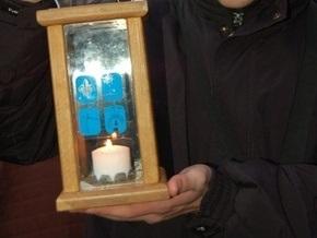 В Украину прибыл Вифлеемский огонь