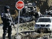 Колонна сербских резервистов пыталась прорваться в Косово