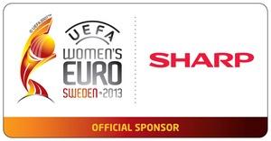 Компания Sharp выступает основным спонсором Чемпионата Европы по футболу среди женщин 2013 - UEFA WOMEN S EURO 2013