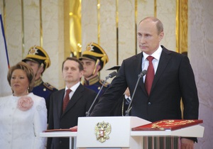 Инаугурация Путина: с друзьями, на фоне безлюдных улиц