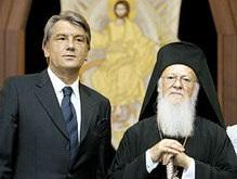 Праздник начинается: в Украину прибыл Вселенский патриарх
