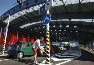 Польша Украина - граница - В Волынской области заработала оперативная система пропуска туристов между Украиной и Польшей