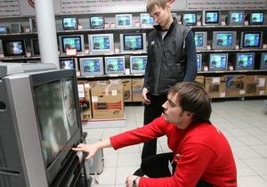 Беларусь запретит продавать аналоговые телевизоры с 2013 года