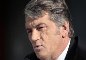 Ющенко отрицает информацию о финансировании ПР избирательной кампании Нашей Украины
