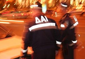 ГАИ назвала основные причины ДТП в Киеве в этом году