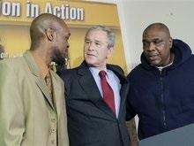 Джордж Буш поделился опытом с бывшими зэками