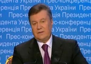 Янукович не ответил на вопрос о том, как его сыну удалось столь быстро разбогатеть