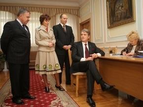Парубий объяснил, почему Ющенко не пришел за удостоверением кандидата в президенты