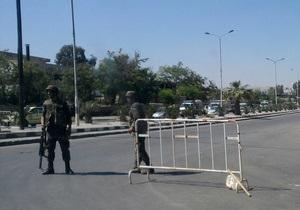 Власти Сирии ввели силы безопасности в пригород Дамаска