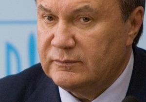 Янукович сообщил, когда примет решение по Налоговому кодексу