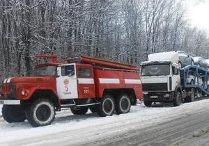 Непогода в Украине - Укравтодор уверяет, что проезд на дорогах государственного значения обеспечен