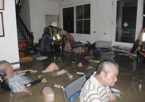 Около полмиллиона китайцев эвакуировали из-за наводнения