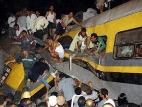 При столкновении поездов в Египте погибли 15 человек