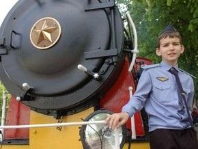 В Киеве начинает работу Детская железная дорога