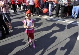 В Киеве первомайские мероприятия прошли без нарушений общественного порядка - милиция
