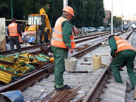 Киевская строительная компания присвоила полмиллиона гривен, выделенных на строительство скоростного трамвая