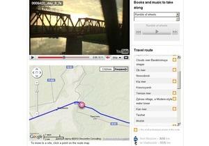 Google запустил виртуальный поезд Москва-Владивосток