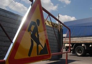 В Киеве в эти выходные отремонтируют 70 дорог