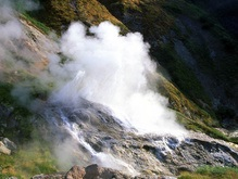Долина гейзеров возобновила свою работу