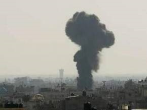 ВВС Израиля бомбят сектор Газа