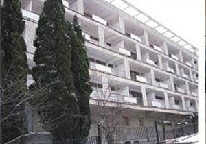 В Ялте возле одного из санаториев прогремел взрыв