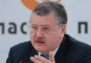 Гриценко: Тимошенко необходимо дать возможность принимать участие в выборах